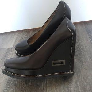 Jill Sander platform shoes